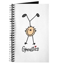 Gymnastics Stick Figure Journal