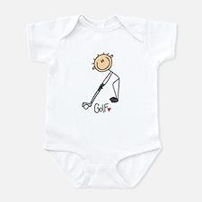 Golf Stick Figure Infant Bodysuit