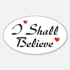 Dreamer Roswell Quotes Oval Decal