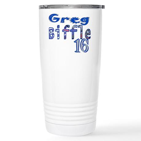 Greg Biffle Stainless Steel Travel Mug