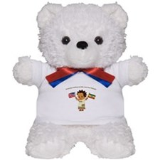 Awaiting my Sister Ethiopia Adoption Teddy Bear