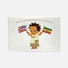 Anxiously Awaiting... Ethiopia Adoption Magnet