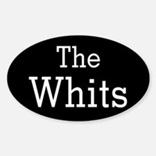 Roswell The Whits Oval Decal