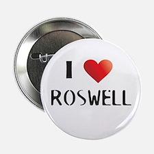"Roswell Logo Merchandise 2.25"" Button"