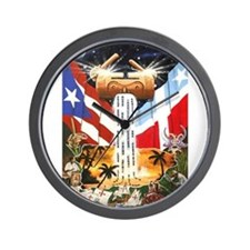 NEW!!! PUERTO RICAN PRIDE Wall Clock