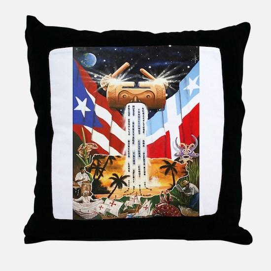 NEW!!! PUERTO RICAN PRIDE Throw Pillow