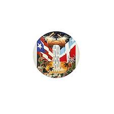 NEW!!! PUERTO RICAN PRIDE Mini Button