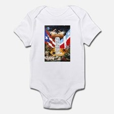 NEW!!! PUERTO RICAN PRIDE Infant Bodysuit