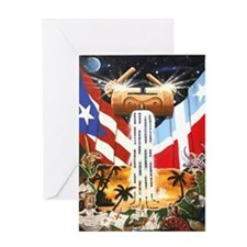 NEW!!! PUERTO RICAN PRIDE Greeting Card