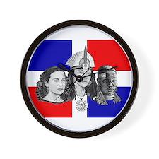 NEW!!! MI RAZA DOMINICAN Wall Clock