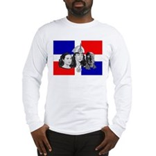 NEW!!! MI RAZA DOMINICAN Long Sleeve T-Shirt