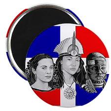 "NEW!!! MI RAZA DOMINICAN 2.25"" Magnet (100 pack)"