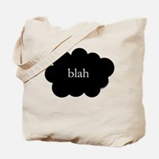 Blah tote bag