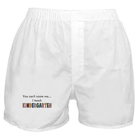 Teach Kindergarten Boxer Shorts