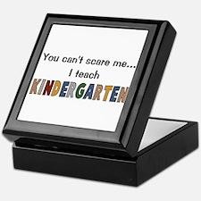 Teach Kindergarten Keepsake Box