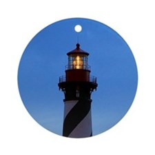 St Augustine Lighthouse Ornament (Round)