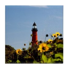 Ponce Inlet Lighthouse Tile Coaster