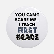 1st Grade Teacher Ornament (Round)