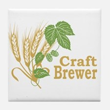 Craft Brewer Tile Coaster