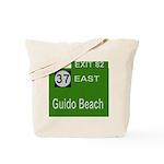 Parkway Exit 82 Tote Bag
