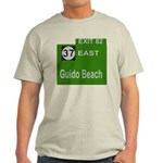 Parkway Exit 82 Light T-Shirt