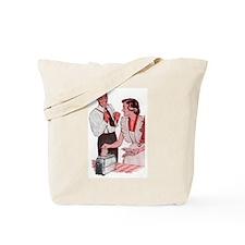Hey Toast Tote Bag