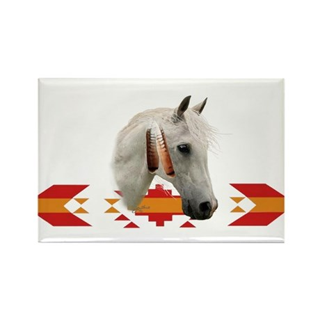 Indian Pony Rectangle Magnet