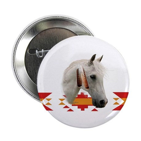 "Indian Pony 2.25"" Button (100 pack)"