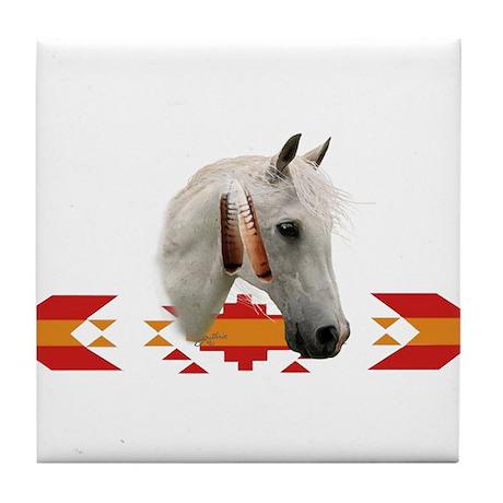 Indian Pony Tile Coaster