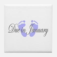 DUE IN JANUARY Tile Coaster