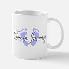DUE IN JANUARY Mug