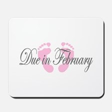 DUE IN FEBRUARY Mousepad
