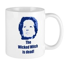 Wicked Witch is Dead (blue) Small Mug