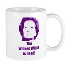 Wicked Witch is Dead (purple) Small Mug