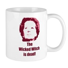 Wicked Witch is Dead (red) Small Mug