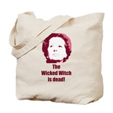 Wicked Witch is Dead (red) Tote Bag