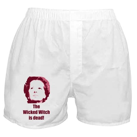 Wicked Witch is Dead (red) Boxer Shorts