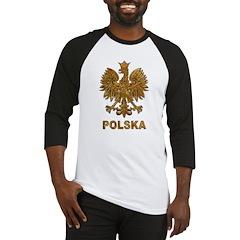 Gold Polska Baseball Jersey
