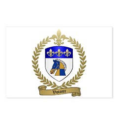 VOTOUR Family Crest Postcards (Package of 8)
