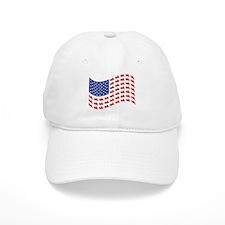 Goldwing Motorcycle Flag Tee Cap