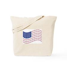 Original Motorcycle Flag Tote Bag