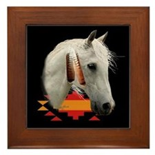 Indian Pony Framed Tile