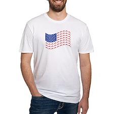 Motocross Bike patriotic Flag Shirt