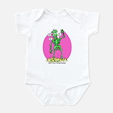 Funny Friendly Zombie Infant Bodysuit