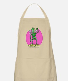 Funny Friendly Zombie BBQ Apron