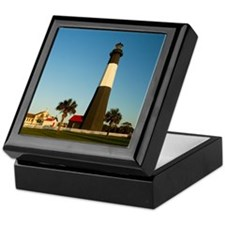 Tybee Island Lighthouse Keepsake Box