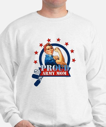 Rosie Proud Army Mom Sweatshirt