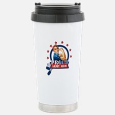 Rosie Proud Army Mom Thermos Mug
