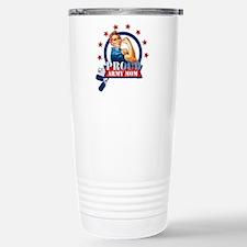 Rosie Proud Army Mom Travel Mug