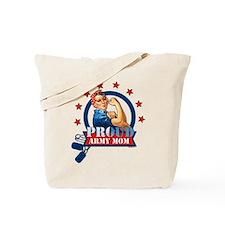 Rosie Proud Army Mom Tote Bag